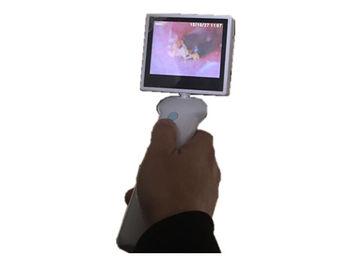 Câmera OTORRINOLARINGOLÓGICA do Otoscope video de 3,5 Digitas do painel LCD da polegada para a garganta do nariz da orelha com bateria de lítio